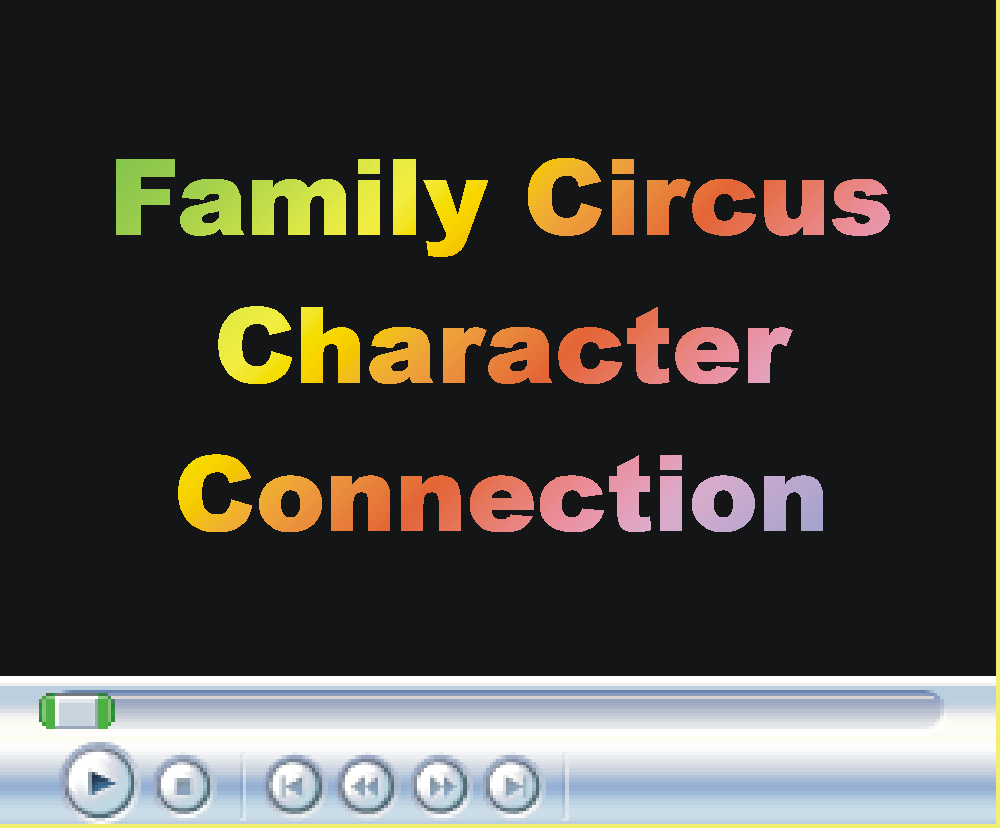 Family Circus Character Connection